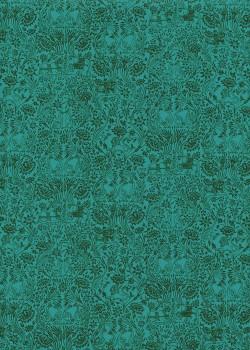 Sérénité fond émeraude (50x70)