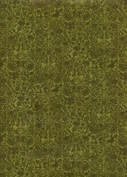 Sérénité fond vert anis (50x70)