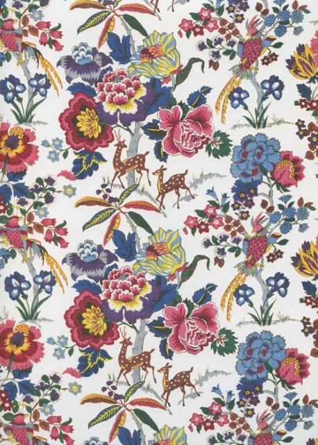 Bouquets, oiseaux et animaux (50x70)