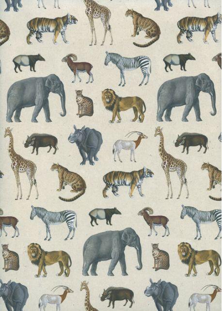 Les animaux de la jungle (50x70)