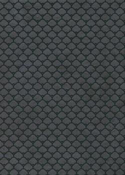 Lokta dômes noirs fond anthracite (50x75)
