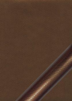 """Simili cuir métal """"Vipère"""" bronze"""