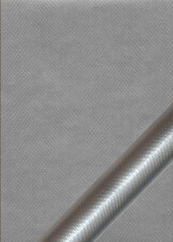 """Simili cuir métal """"Vipère"""" chrome"""
