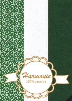 HARMONIE TRIO Vipère vert et blanc