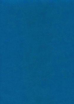 "Simili cuir ""Buffalo"" bleu gentiane (70x100)"