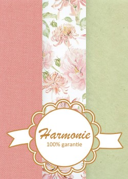 HARMONIE TRIO Floral ambiance rose