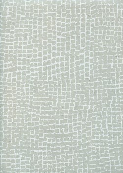 Lokta quadrillage blanc fond gris (50x75)