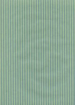 Rayures crème fond vert (50x56.5)