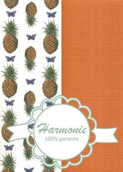 HARMONIE DUO Ananas et papillons
