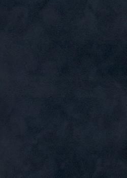 Simili cuir velours Pelage bleu marine (70x100)