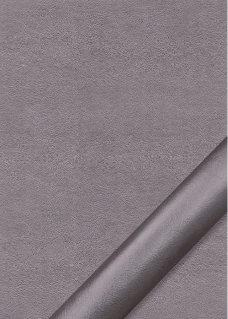 "Simili cuir ""Platinium"" étain (70x100)"