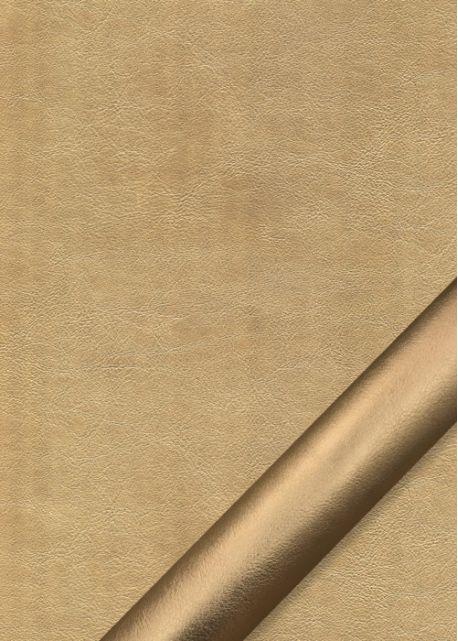 """Simili cuir """"Platinium"""" doré (70x100)"""
