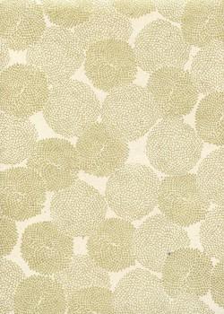 Lokta pompons or fond naturel (50x70)