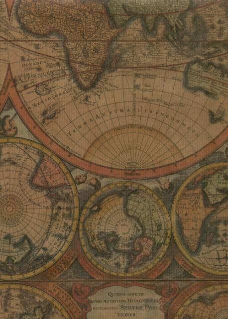 """""""Kraft fantaisie"""" les globes (49,5x68)"""