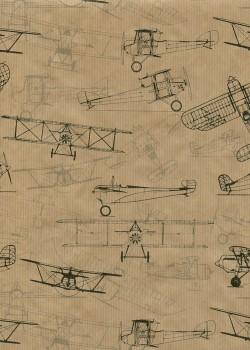 """Kraft fantaisie"" les avions (49,5x68)"