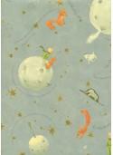 Le petit prince réhaussé or (49,5x68)