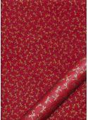 Lokta libellules or fond rouge (50x75)