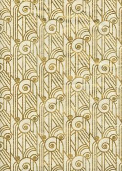 Lokta pharaon or fond ivoire (50x75)