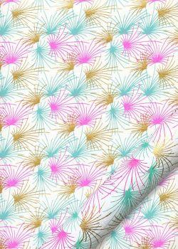 Les pétards colorés fond blanc (50x70)