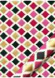Les carreaux stylisés fond écru (50x70)