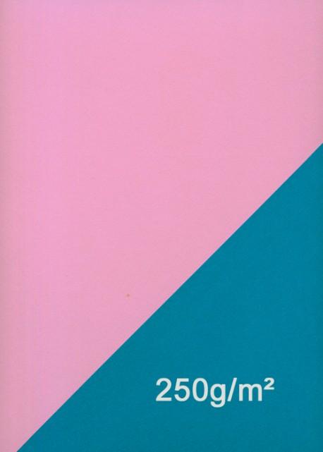 Papier recto verso rose et bleu (50x70)