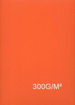 """Papier uni """"Daler"""" orange (52x78)"""
