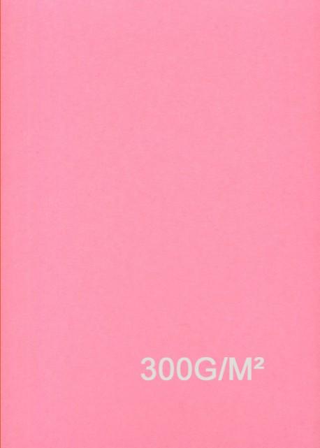 """Papier uni """"Daler"""" rose (52x78)"""