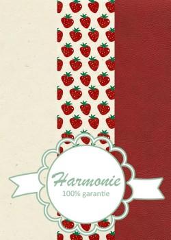 HARMONIE TRIO Les fraises rouges