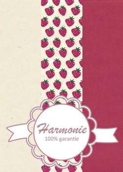 HARMONIE TRIO Les fraises roses