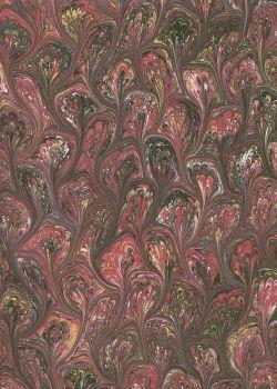 Papier reliure marbré N°05-2 (50x65)
