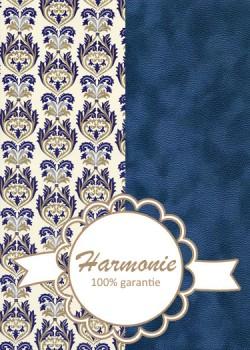 HARMONIE DUO Brocada bleu