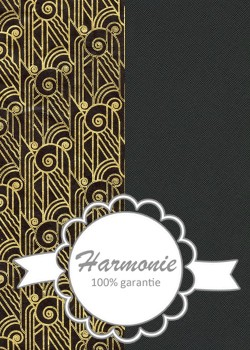 HARMONIE DUO Pharaon noir et or