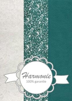HARMONIE TRIO Arabesques ambiance bleu vert