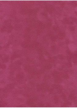 Simili cuir velours Zeste fuchsia (70x100)