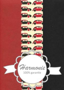 HARMONIE TRIO Les bolides rouge et noir