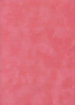 Simili cuir velours Zeste corail (70x100)