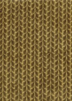 Lokta frises or fond chocolat (50x75)