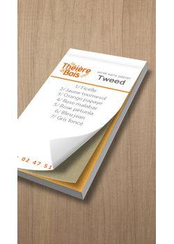Nuancier Tweed (12x6cm)