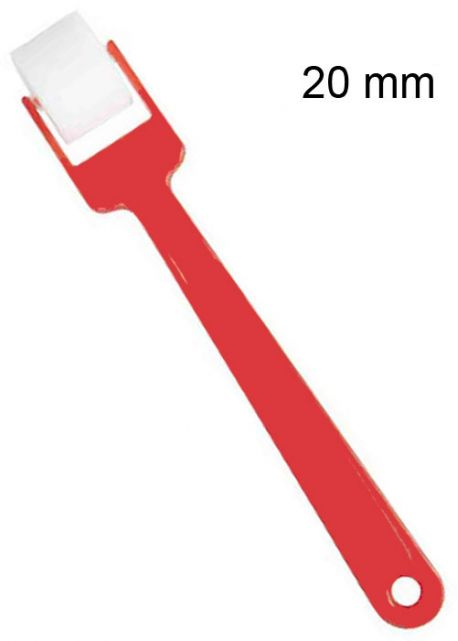 Rouleau en mousse extra avec manche (Ø20mm)