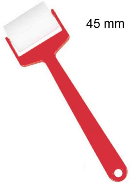 Rouleau en mousse extra avec manche  (Ø45mm)