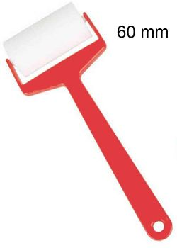 Rouleau en mousse extra avec manche  (Ø60mm)
