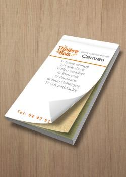 Nuancier Canvas (12x6cm)