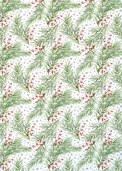 Les branches de Noël (68x98)
