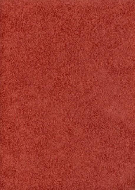 Simili cuir velours Zeste paprika (70x100)