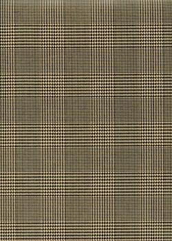 """""""Ecosse"""" noir et beige (50x70)"""