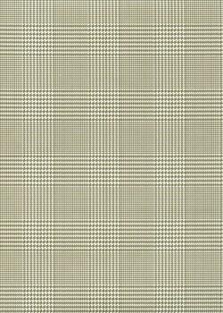 """""""Ecosse"""" gris et ivoire (50x70)"""