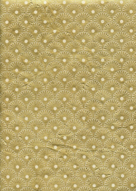 Lokta Kahori or fond ivoire (50x75)