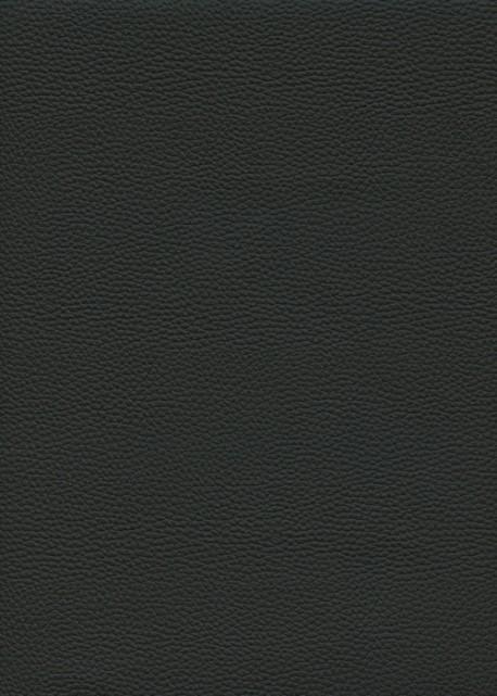 """Simili cuir """"Buffle grainé"""" noir réglisse (70x100)"""