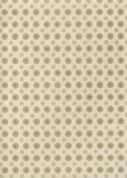 Lokta rosaces or mat fond naturel (50x75)