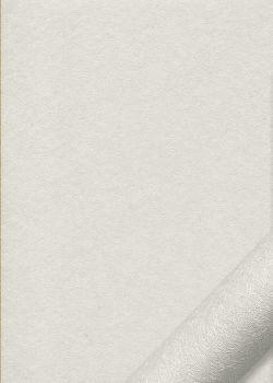 "Simili cuir ""Carat"" white (50x70)"